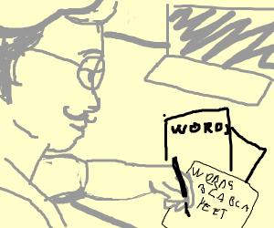 Artist Writing