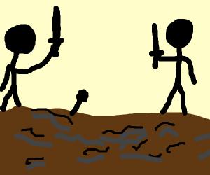 Greasy Battlefield