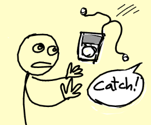 Catching an iPod