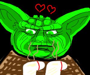 yoda love dirty sock
