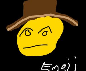 disappointed cowboy emoji