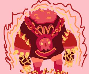 Lord Vanaduke in embers