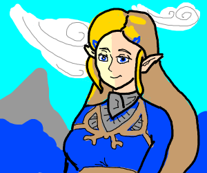 princess Zelda, breath of the wild