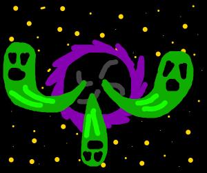 souls in a blackhole