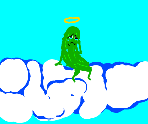 Sad Pickle in Heaven