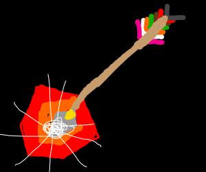 Link's Flame Arrow