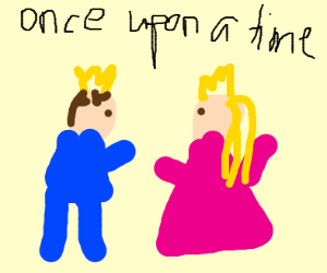 Fairytale Princess and Prince