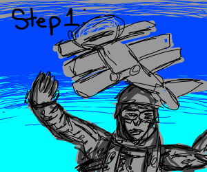 Step 1: Jump out of the plane
