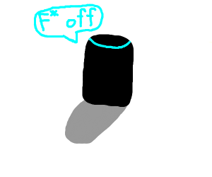 Alexa telling you to f off