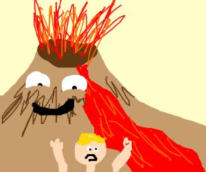 content volcano