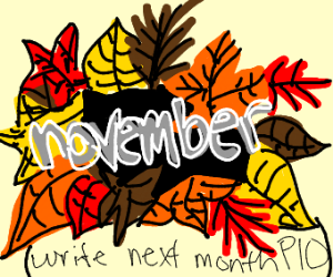 October (Put the next month!!)