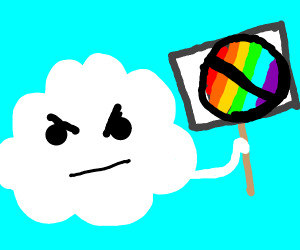 Homophobic cloud