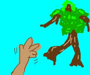 tree d'ont go