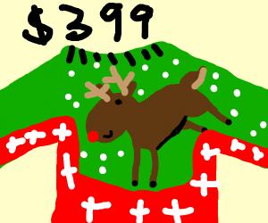 Reindeer Chirstmas Sweater