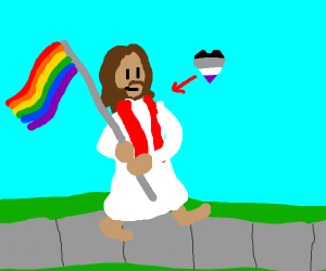 second coming of jesus, now he's lgbt