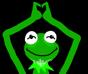 Kermit the Old Frog loves you ♡