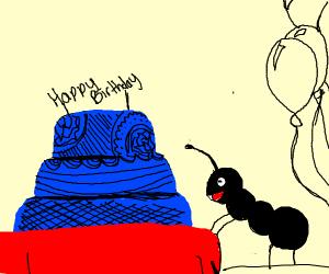 It's Ant's Birthday!
