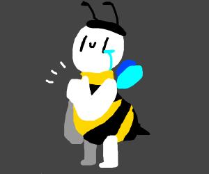 bad bee costume (eternal human suffering)