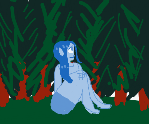Blue Forest Nymph