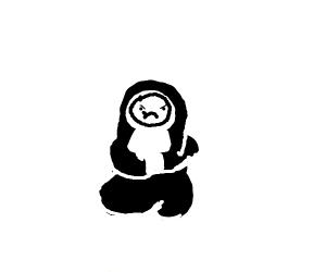 Angry Chubby Nun