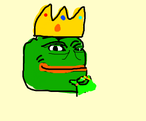 Pepe the king of frogs