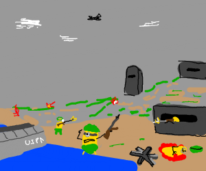 Minion (despicable me) D-Day