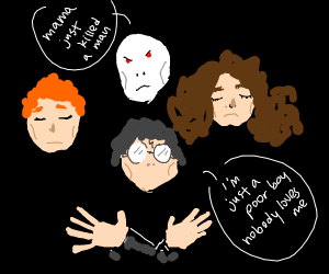 harry potter bohemian rhapsody
