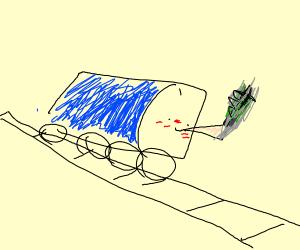 thomas the train on drugs