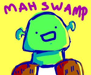 Ditto faced Shrek