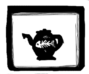 X-ray Fish in a Teapot