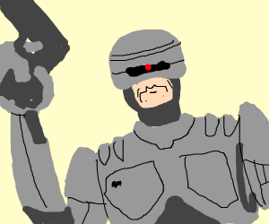 Cartoon Robocop