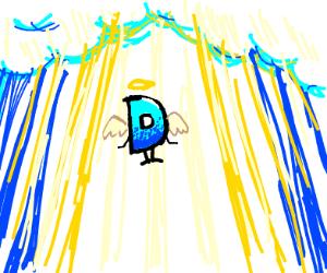 D ascending to heaven