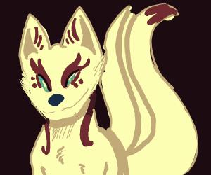 A beautiful Kitsune