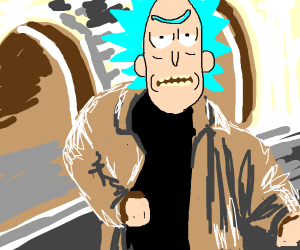 Rick Sanchez sings Never Gona Give You Up