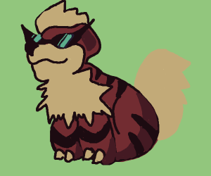 A Pretty Rad Growlithe