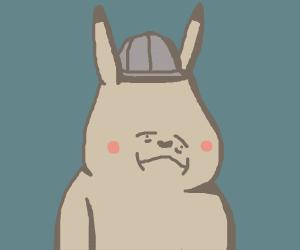 depressed detective pikachu