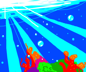 [CHALLENGE] Coral reef scene