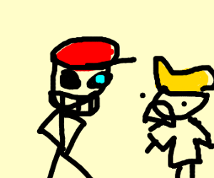 Ness is sans w/worried Lucas