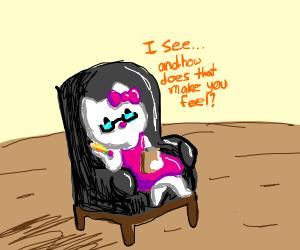 Hello Kitty is a therapist