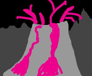 pink lava?