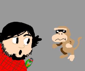 JonTron reviews a Monkey