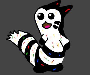 Random colored furret