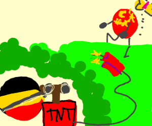 GermanyBall is gonna blow up ChinaBall.