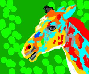 Artsy Giraffe