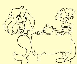 Mermaid Teatime