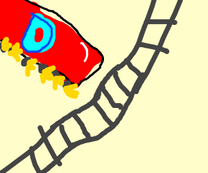 Literal (Train) Derailing