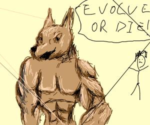 Buff Doggo demands that his master evolves