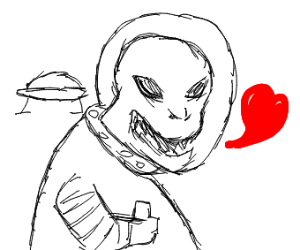 Alien loves you