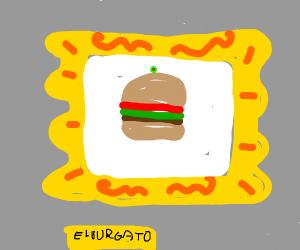 Hamburger Painting
