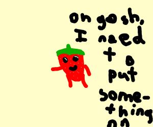 naked kawaii strawberry